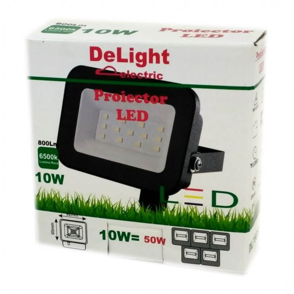 Proiector Led SMD TABLET 10W 800Lm 6500K