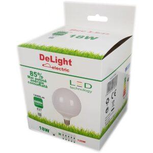 led-ieftin.ro Bec Led E27 18W 220V 6400K G120 Lumina Rece