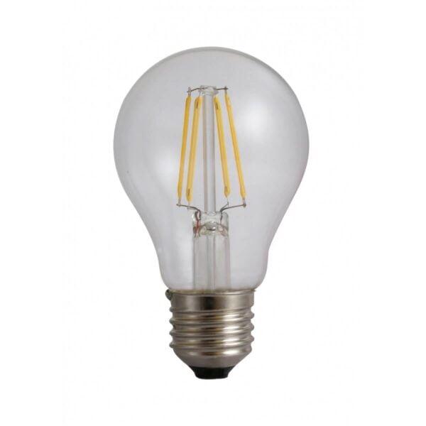 Bec LED cu Filament A60 E27 4W 220V 3000K 480 lumeni