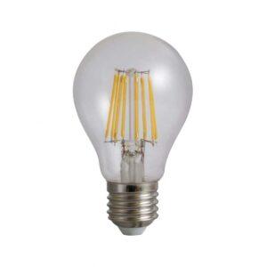 Bec LED Filament A60 E27 10W 220V 4000K 1250 lumeni