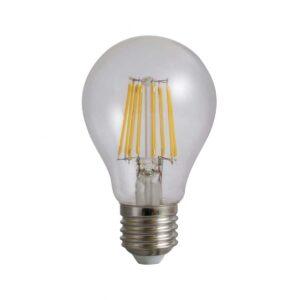 Bec cu Filament A60 E27 8W 220V 6500k 960 Lumeni