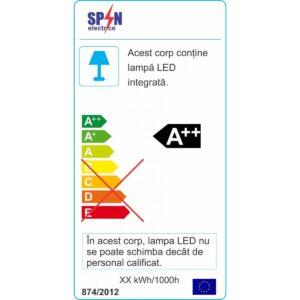 Spot LED Rotund pentru Scara 6W 3000K