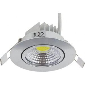 Spot LED Slim Aluminiu COB Fi85 5W 305Lm
