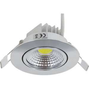 Spot LED Slim Aluminiu COB Fi85 7W 435Lm
