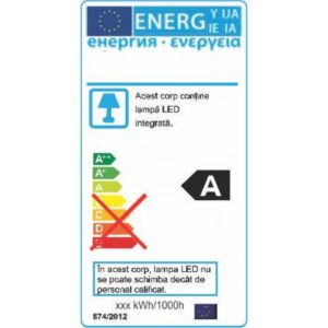 Corp Liniar LED T8 8W=18W 2700K Lumina Calda