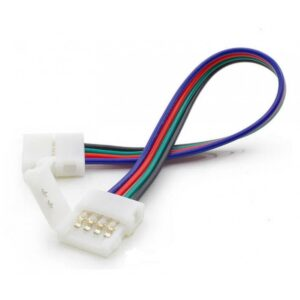 Clema si Cablu Conector Banda LED 4 Pini