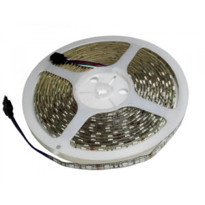 Banda LED RGB IP20 12V 14.4W/M 60 LED/M 5050 - Rola 5 m