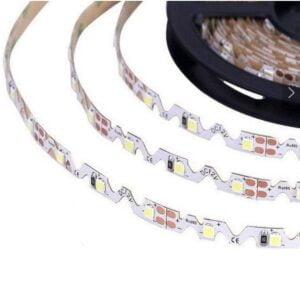 BANDA LED 12V 4.8W/M 60LED/M IP20 R2835 6400K 5M Lumina Rece