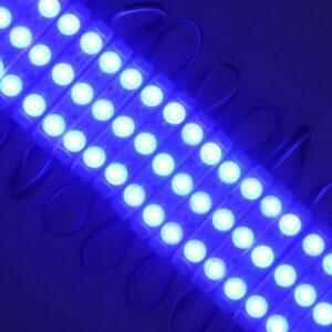 Modul LED lumina albastra 12V 1.5W IP67