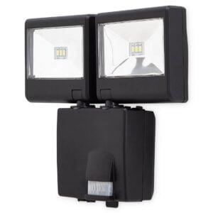 Proiector LED Dublu PIR cu Baterii 6X1,5V