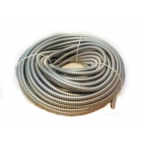 Copex 21mm (rola 50m) - Tub riflat metalic zincat