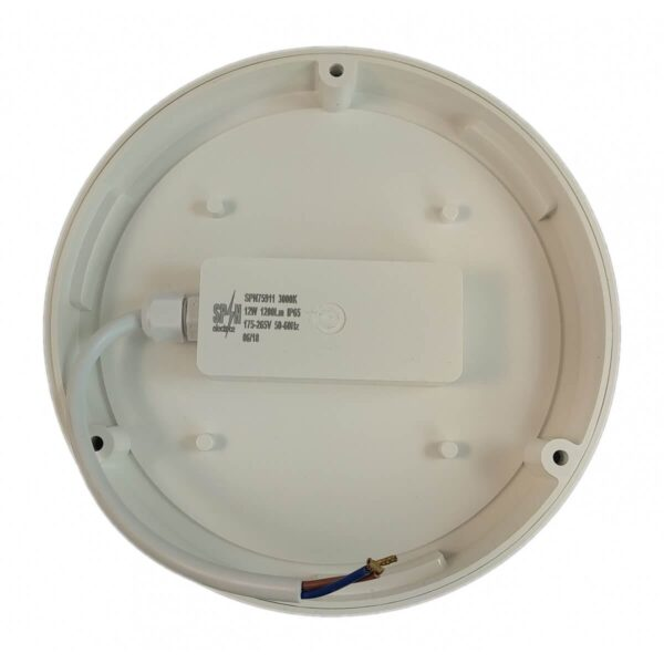 Aplica LED Rotunda de Exterior fi235 18W 6000K