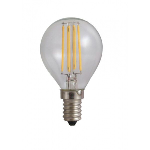 led-ieftin Bec Sferic Filament LED E14 4W 220V 6500K