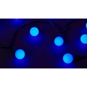 Instalatie de Brad Albastra 120 LED-uri