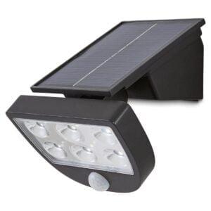 Proiector LED cu Panou Solar si Senzor Miscare 3W