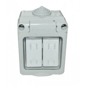 modular priza ag ip55 doua butoane