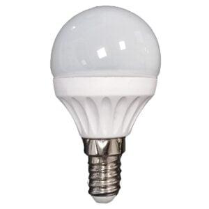 led-ieftin.ro Bec Led Sferic E14 5W 220V 2700K G45 Lumina Calda