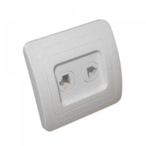 Comutator Clasic Dublu cu LED