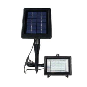 Proiector Led cu Panou Solar și Senzor de Miscare