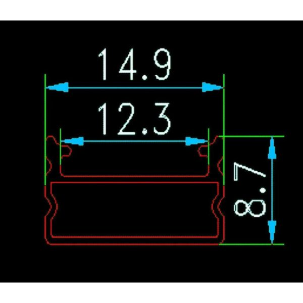 Profil Aluminiu Rotund Pentru Banda LED