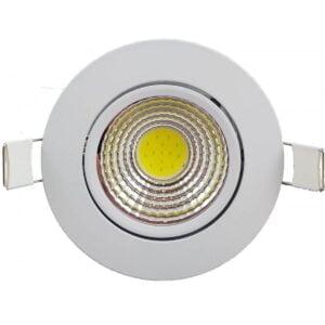 Spot LED Slim Rotund COB Fi85 7w 435Lm