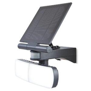 Proiector LED Twin cu Panou Solar si PIR