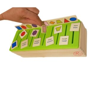 Sortator Montessori in limba romana/engleza