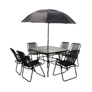 set gradina 8 piese umbrela