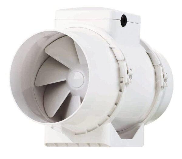 Ventilator VENTS TT 150, industrial, axial de tubulatura, diametru 150 mm, debit 520 mc/h, 2 viteze