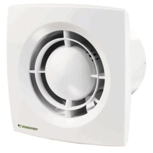 Ventilator axial Domovent, 125 mm, 16 W, 177 x 140 x 114 mm