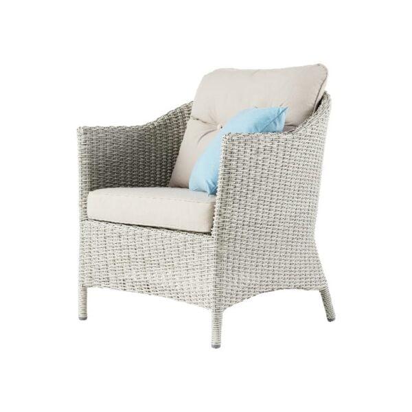Set mobilier de gradina GoodHome Floral, banca cu masa si 2 scaune