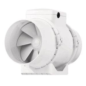 Ventilator VENTS TT 100, industrial, axial de tubulatura, diametru 100 mm, debit 187 mc/h, 2 viteze