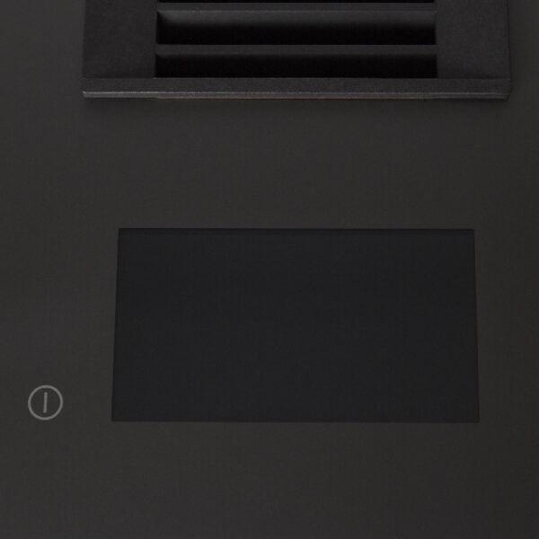 Plita inductie cu hota incorporata GoodHome Bamia, gri-inchis, 7335 W, 770 x 250 x 520 mm