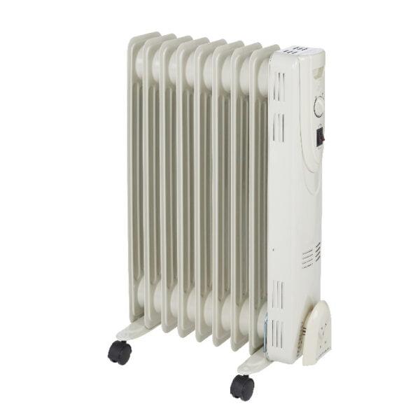 Radiator electric pe ulei, 2000 W, 9 elementi, 640 x 430 x 145 mm
