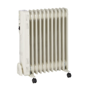 Radiator electric pe ulei, 2500 W, 11 elementi, 640 x 510 x 145 mm