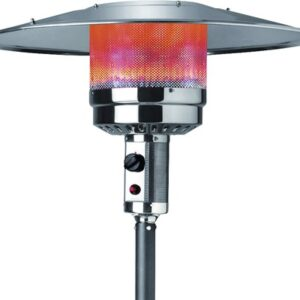 Incalzitor terasa pe gaz, gri antracit, 13 Kw, aprindere piezoelectrica
