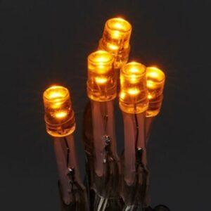 Instalatie interior/exterior, cablu transparent, 240 LED-uri, lumina calda