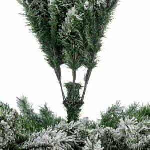 Brad artificial Kabru, efect zapada, 183 cm
