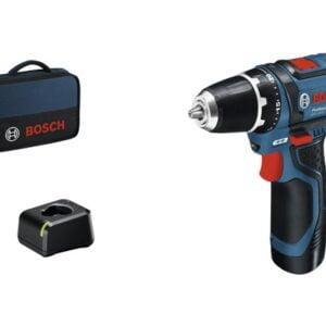 Masina de gaurit & insurubat cu acumulator Bosch Professional GSR12V-15, 2 acumulatori si geanta inclusa