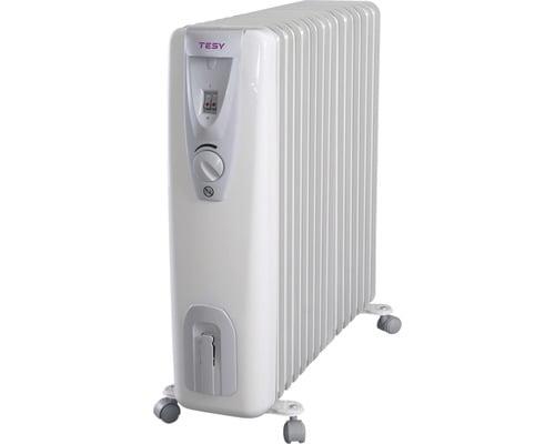 Radiator electric cu ulei Tesy, 3000 W, 14 elementi, 3 trepte de putere, termostat reglabil