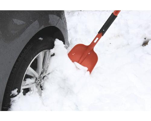 Lopata pliabila pentru zapada, din plastic, ideal auto