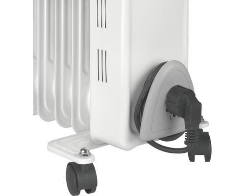 Calorifer electric Eurom 1500 W, 7 elementi, termostat