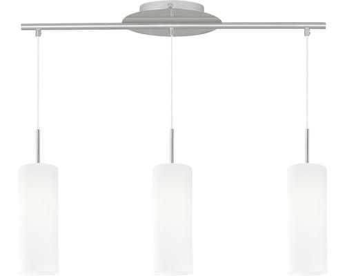 Lustra EGLO Troy3, 3xE27, ajustabil, sticla satinata, design modern