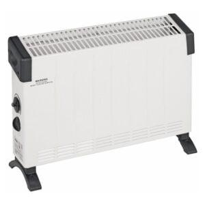 Convector electric, 2000 W, 58,5x13x40 cm, 3 trepte, alb