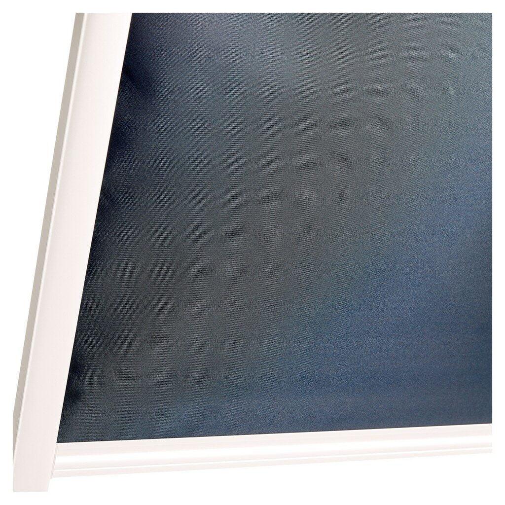 Roleta opaca albastra, 78 x 98 cm, reduce luminozitatea
