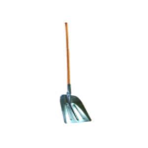 Lopata pentru zapada din tabla, maner lemn, 32x36x150 cm