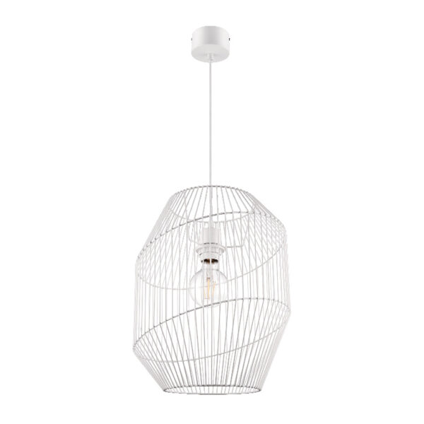 Pendul sfera, alb, 1 x (E27), IP20 • GoodHome Tsolma