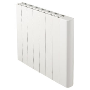Radiator electric orizontal Alvara, 1500 W, element inertial uscat, 66 x 57 x 12 cm