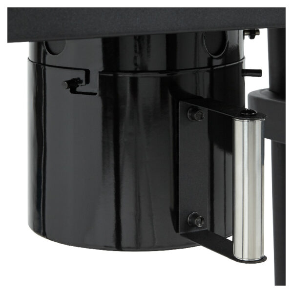 Gratar de gradina cu carbuni, Blooma Rockwell 210, negru