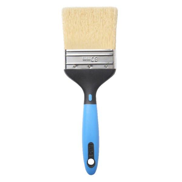 Pensula albastra, 80 mm, acoperire optima, material calitativ